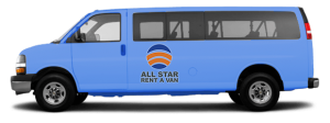 15 Passenger Van Rental in San Diego